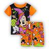 2Pcs Kids Boys Girls Cartoon Sleepwear Nightwear Pj's Pyjamas Summer Clothes Set