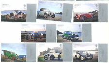 Mint Never Hinged/MNH Cars Jersey Regional Stamp Issues