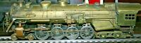RARE ADAMS AND SONS O SCALE BRASS (4-8-4) LOCO ONLY FOR PARTS OR RESTORATION