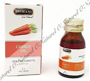 Carrot Oil 100% Pure & Natural 30ml Tracked Shipping