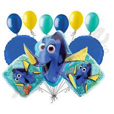 11 pc Finding Dory Balloon Bouquet Party Decoration Pixar Disney Nemo Birthday
