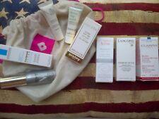 8pc skincare set in Birchbox drawstring bag: Sisleya, Avene, thisworks etc