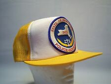 Vintage 85' State Of New York Police Olympics Trucker Hat Men's One Size