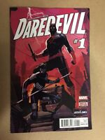 DAREDEVIL #1 FIRST PRINTING MARVEL COMICS (2015) AVENGERS SPIDER-MAN PUNISHER