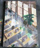 "THE NEW YORKER MAGAZINE  SEPTEMBER 28 2020 ""OPEN OFFICES"""