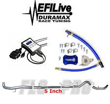 Chevy GMC Duramax LML 6.6L 2011-2015 EGR DPF DEF Delete Kit EFI Live Tuner 5 New