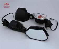 Fit For Kawasaki Ninja ZX10R 2008-2011 2009 Turn Signal  Rear View Side Mirrors