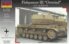 FLAKPANZER III OSTWIND W/3,7cm FLAK 43 - WW II GERMAN SPAAG 1/72 MACO