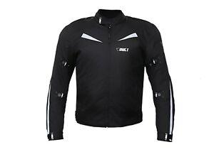 CrustSports Mens Motorcycle Waterproof Cordura Textile Jacket Motorbike CEArmour