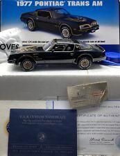 Franklin Mint 1/24 Scale Pontiac Trans Am Smokey And The Bandit RARE RARE