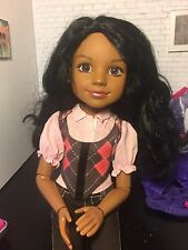 BFC Ink 18 Inch Calista Doll With 5 Outfits