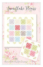 Quilt Pattern ~ SNOWFLAKE FLEURS ~ by Acorn Quilt & Gift Company