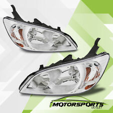 2004 2005 Honda Civic 2Dr/4Dr Chrome Factory Style Headlights Set
