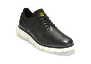New Cole Haan Men's 4.ZEROGRAND Plain Toe Oxford Size 13 Black Leather C33167
