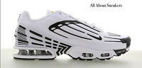 """Nike Air Max Tuned Air 3 """"White-Black-Red"""" Men's Trainers Limited Stock All Size"""
