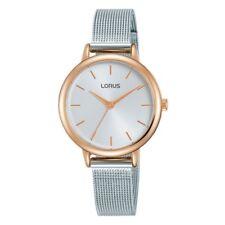 Lorus Ladies Mesh Bracelet Watch  LNP RG224PX9
