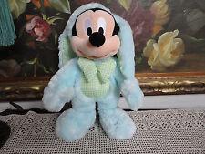 Original Disney Store London UK MICKEY MOUSE Easter Bunny Rabbit Doll 15 inch