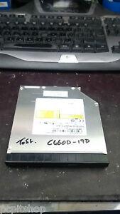 LAPTOP DVD WRITER Toshiba C660D C660 TS-L633 WITH BEZEL & BRACKET SATA