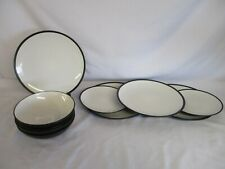 Comedor De Porcelana De 18 piezas de cerámica evocan Cena Placas de conjunto de servicios