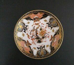 Antique Royal Crown Derby King's Imari 19th Century Trinket Dish Old Mark