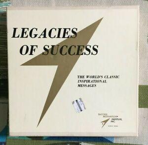 Legacies of Success EP Box Set Sales Motivational Speakers 1968 VG+/M-