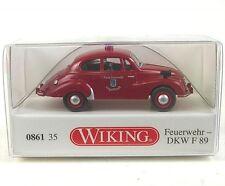 """Wiking 1/87 086135 DKW F 89 """"pompier Ingolstadt"""""""