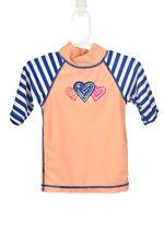 UV Skinz Girls Swimwear Rashguards 2T Orange Polyester
