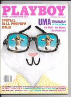 Back Issue September 1996 Playboy Magazine ~ Uma Thurman Cover ~ FINE