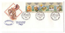 "1987 FDC Australia. The Man from Snowy River. Pict.FDI ""PHILATELIC SALES CENTRE"""