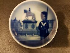 "Royal Copenhagen PALACE GUARD Miniature Plate Blue 3"""