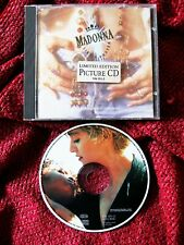 Madonna LIKE A PRAYER Limited Promo PICTURE DISC CD Cherish Video HOLY GRAIL Lot