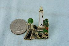 WILLABEE & WARD PIN LIGHTHOUSE ST. SIMONS,ST.SIMONS, CA. COMES WITH INFO CARD