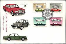 GB FDC 1982 automóviles, motor Museum Beaulieu H/S #C41550