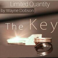 The Key by Wayne Dobson -Silver,Close up Magic Tricks,Gimmick,Illusions,Street