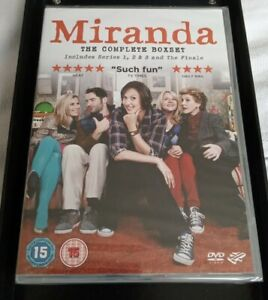 MIRANDA: COMPLETE SERIES 1,2,3,4 DVD COLLECTION FINALE + CHRISTMAS SPECIALS; NEW