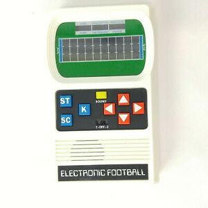 FOOTBALL Handheld Electronic Game Retro Release Mattel Classic Sounds Lights