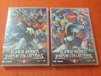 GO NAGAI SUPER ROBOT MOVIE COLLECTION DVD MAZINGA GOLDRAKE GETTA ROBOT DEVILMAN