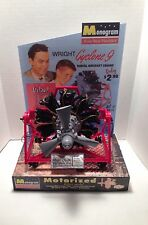 MONOGRAM WRIGHT CYCLONE 9 ENGINE STORE ACTION MODEL DISPLAY BASE ONLY