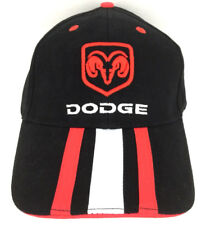Dodge Ram Hat Victory Lane Cap 3 Stripe Logo Trucks Cars Baseball Trucker Black