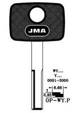 JMA Transponder Key Shell – Vauxhall - OP-WY.P