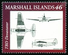 US Navy Douglas TBD DEVASTATOR Torpedo Bomber Aircraft Design Stamp