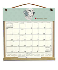 Blue English Setter Calendar Filled With2019, 2020 & An Order Form For 2021