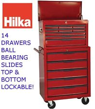 14 Drawer Tool Chest, Cabinet, Box, Ball Bearing Slides
