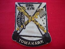 US 128th Aviation Company TOMAHAWK Vietnam War Patch