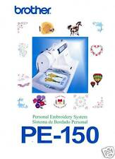 BROTHER PE-150 PE-200 Embroidery Owners MANUAL ON CD