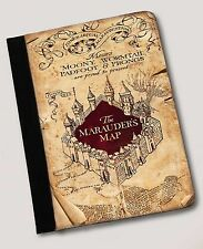 Harry Potter Inspired The Marauders Map  ipad Air 1 Air 2 notebook case Leather