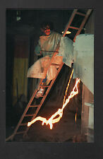 FRETEVAL 41 : FONDERIE / CUBILOTIER , OUVRIER au travail en 1996