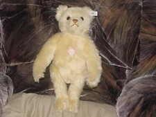 "15"" 40cm Steiff Musik Yellow Mohair Bear Limited Edition of 8,000 #407482"