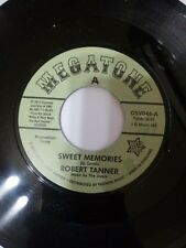 """ROBERT TANNER c/w THE NEW SOUNDS  """"SWEET MEMORIES""""   NORTHERN/XOVER SOUL"""