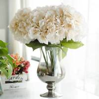 Faux Artificial Silk Floral Flower Bouquet Hydrangea Party Decor Craft Hot LAX